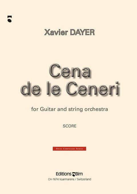 Dayer Xavier Cena De Le Ceneri Gui10