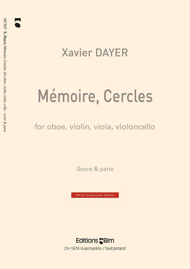Dayer Xavier Memoires Cercles Mcx87