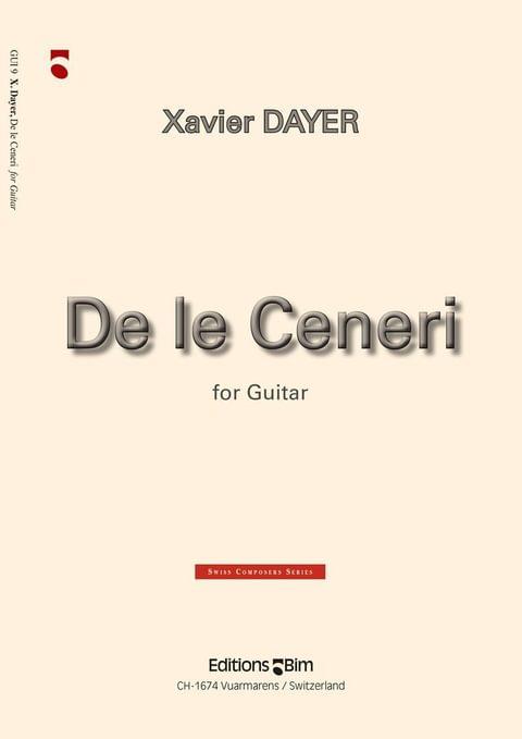 Dayer Xavier De Le Ceneri Gui9