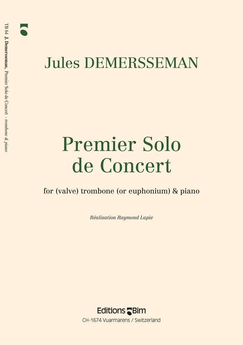 Demersseman Jules Premier Solo De Concert Tb64