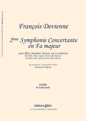 Devienne Francois 2e Symphonie Concertante Co39