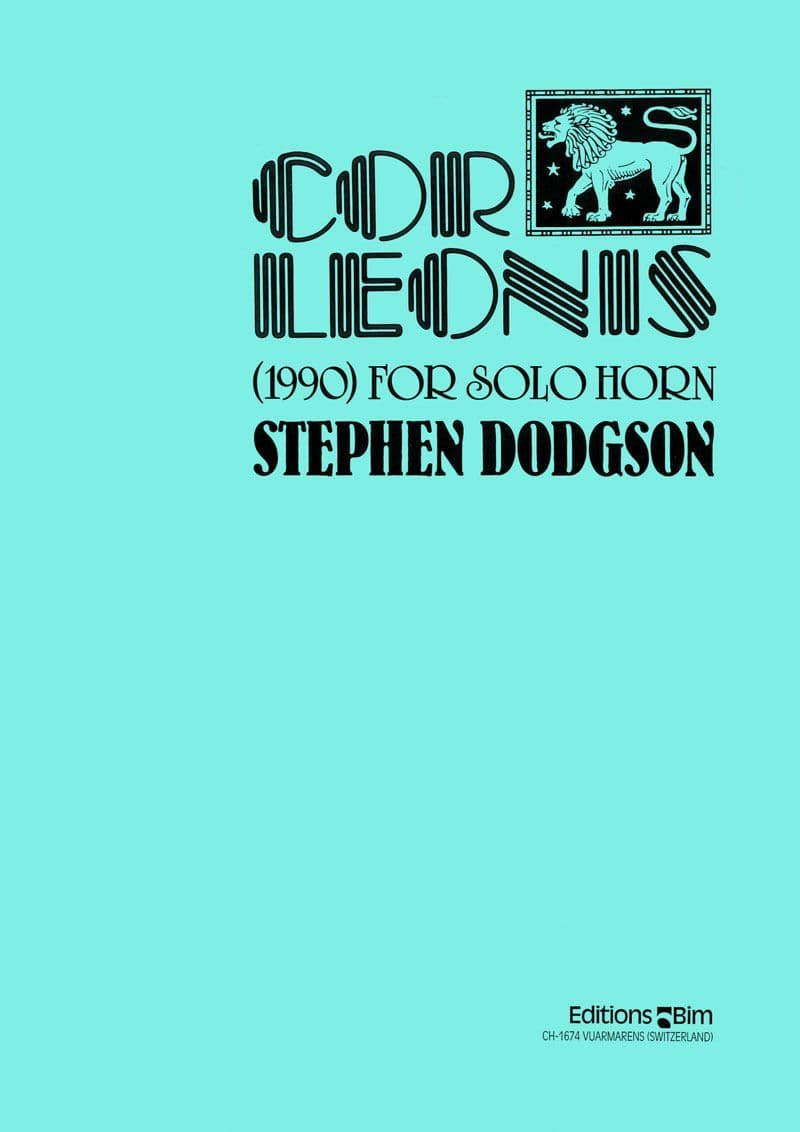 Dodgson Stephen Cor Leonis Co21
