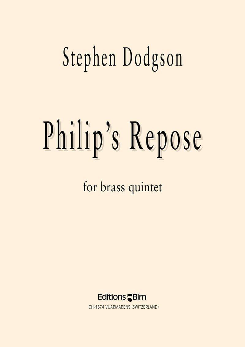 Dodgson Stephen Philips Repose Ens125