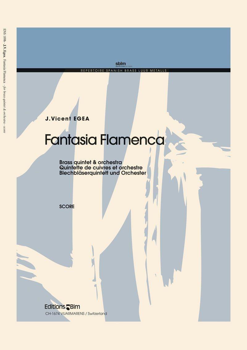 Egea Vicent Fantasia Flamenca Ens189
