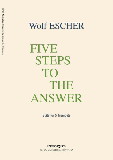 Escher Wolf Five Steps To An Answer Tp23