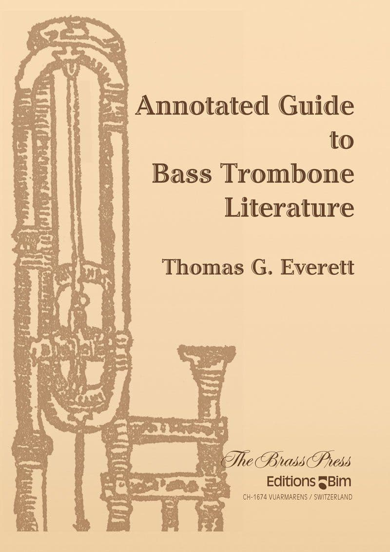 Everett Thomas Annotated Guide To Bass Trombone Literature Br P10