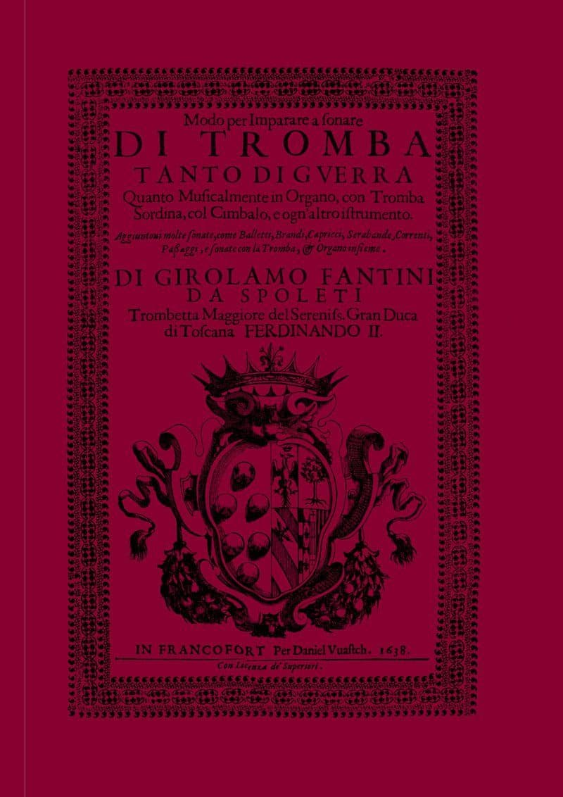 Fantini Girolamo Modo Per Imparare A Sonare Facsimile Tp140