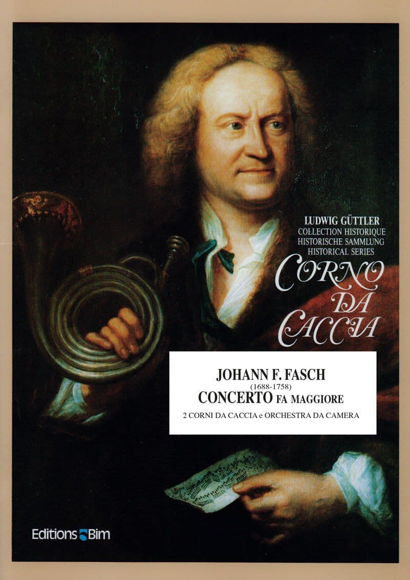 Fasch Johann Concerto Fa Maggiore Co5