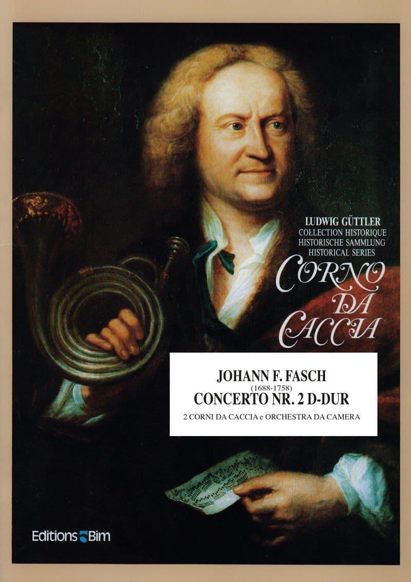 Fasch Johann Concerto No 2 D Dur Co4