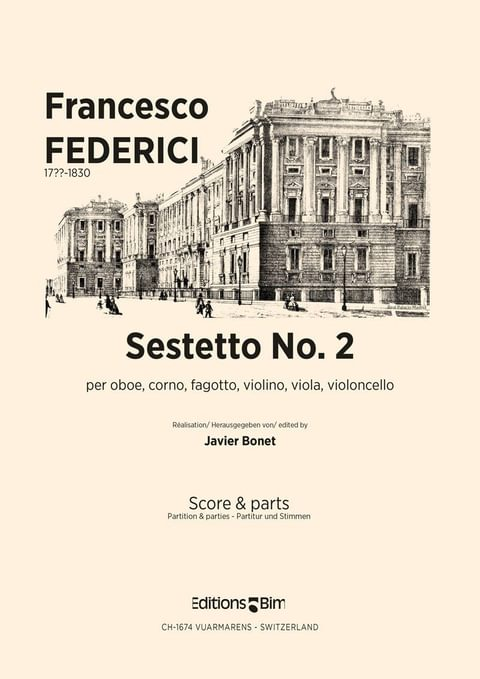Federici Francesco Sestetto No 2 Co55