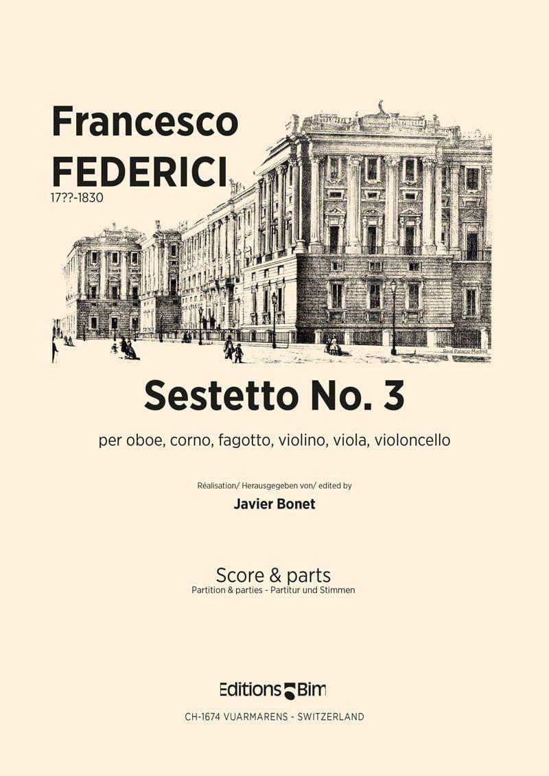 Federici Francesco Sestetto No 3 Co56