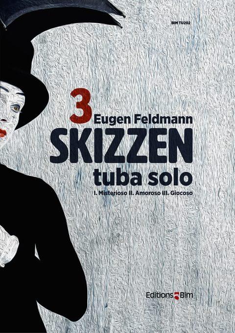 Feldmann Eugen 3 Skizzen Tu202