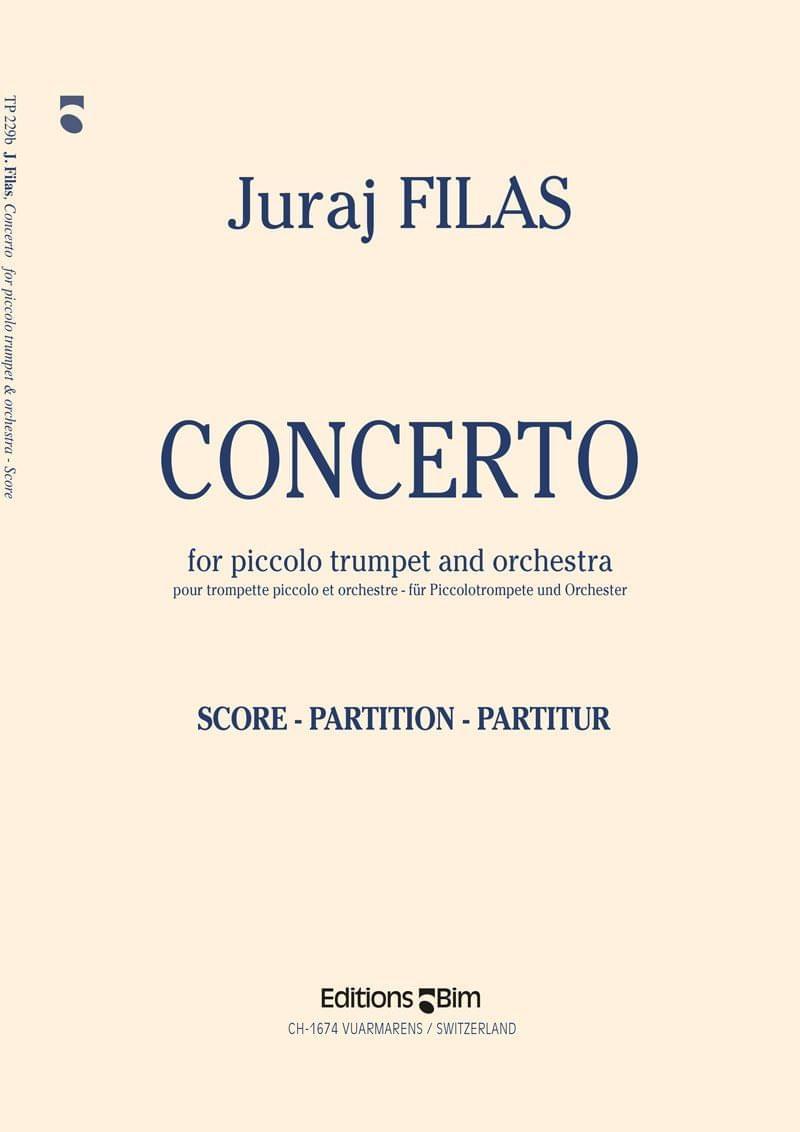 Filas Juraj Concerto For Piccolo Trumpet Tp229