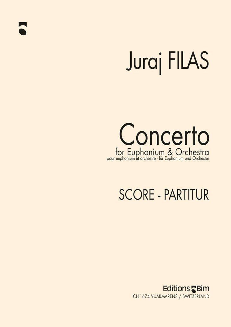 Filas Juraj Euphonium Concerto Tu94