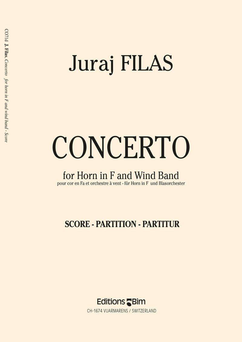 Filas Juraj Horn Concerto Co71