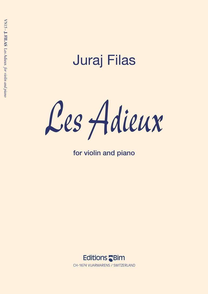 Filas Juraj Les Adieux Vn15