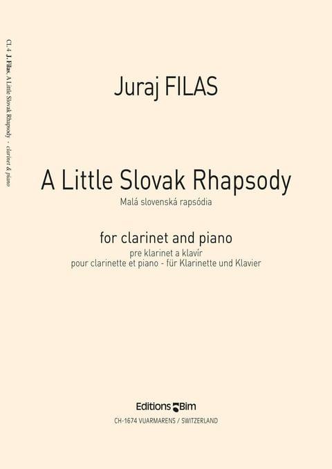 Filas Juraj Little Slovak Rhapsody Cl4