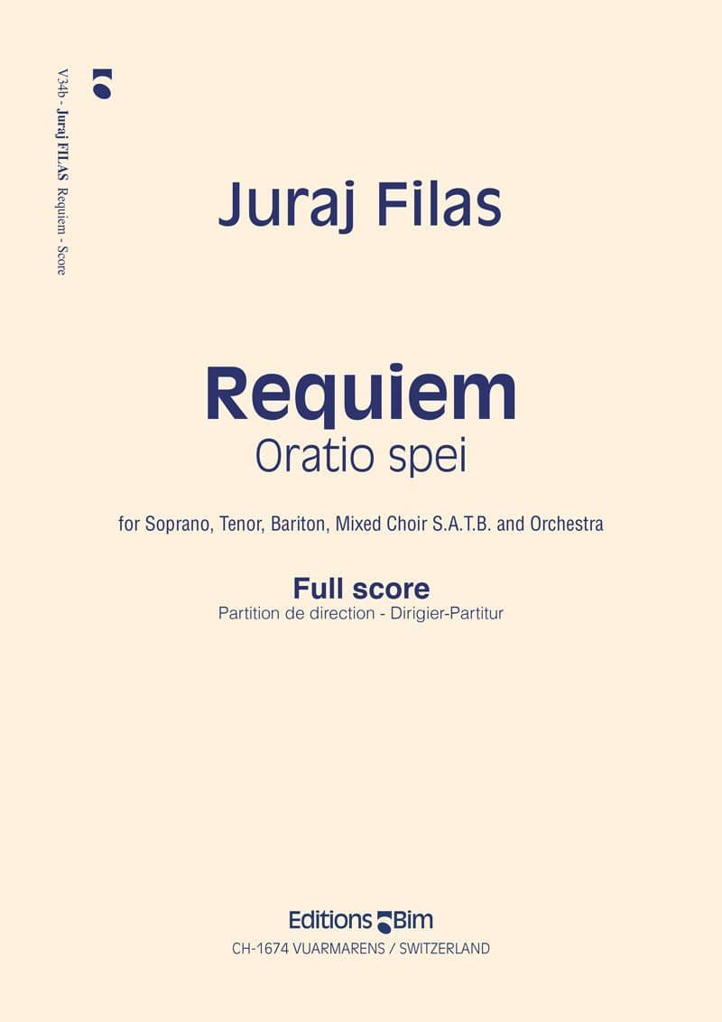 Filas Juraj Requiem Oratio Spei V34