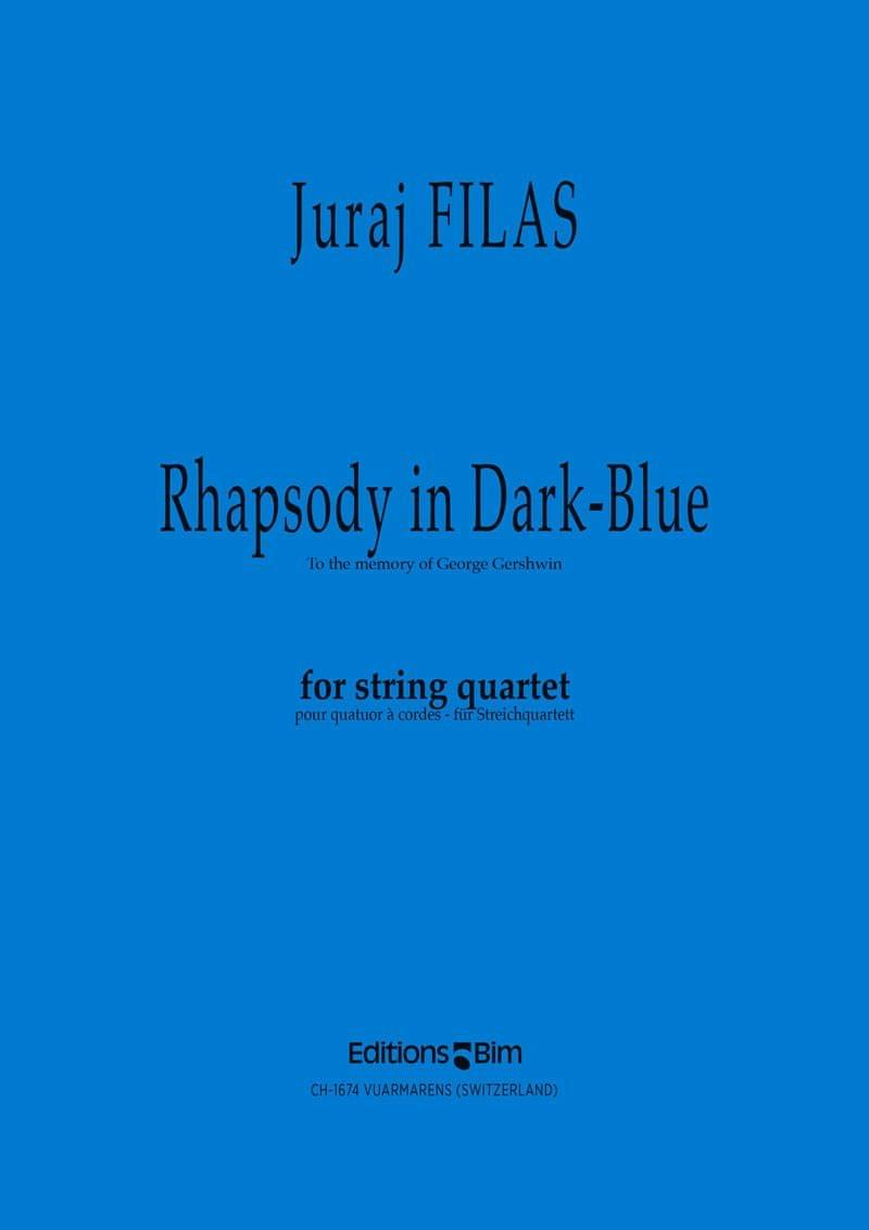 Filas Juraj Rhapsodie In Dark Blue Qc3