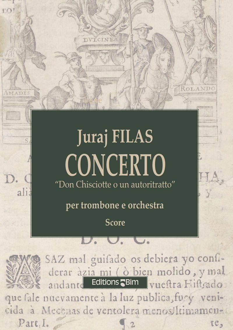 Filas Juraj Trombone Concerto Don Chisciotte Tb55