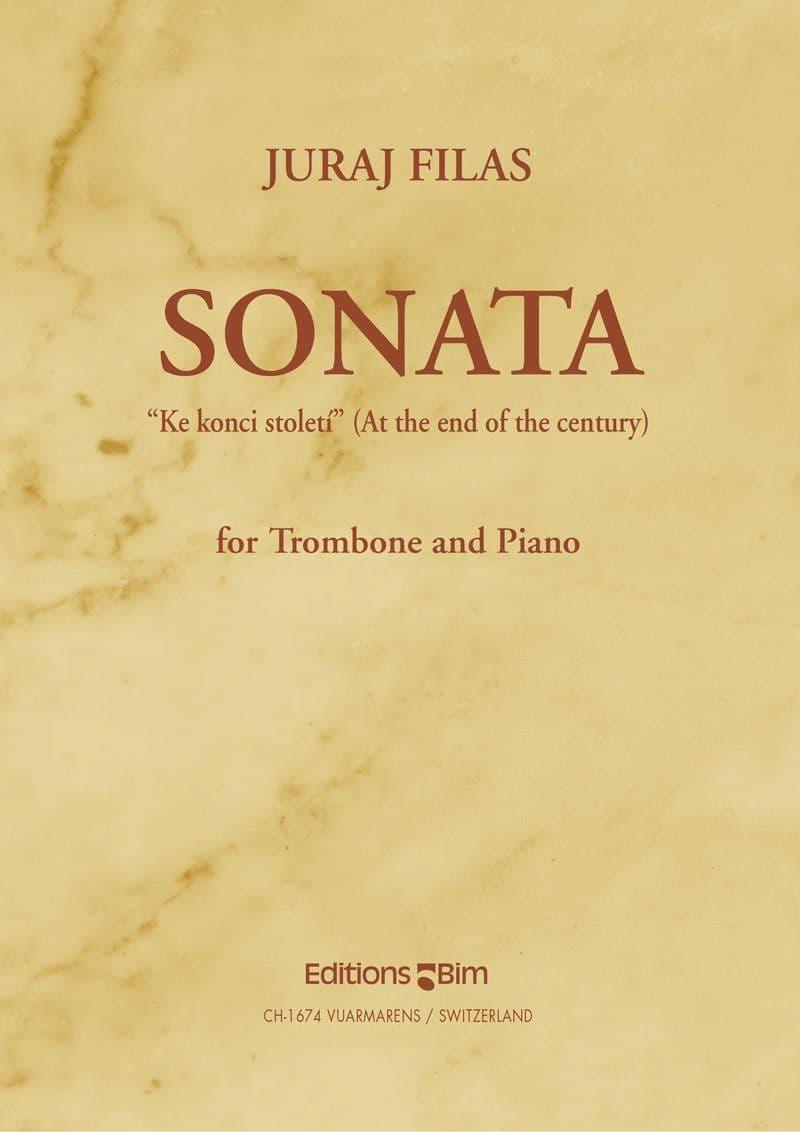Filas Juraj Trombone Sonata At The End Of The Century Tb29