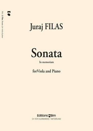 Filas Juraj Viola Sonata In Memoriam Va1