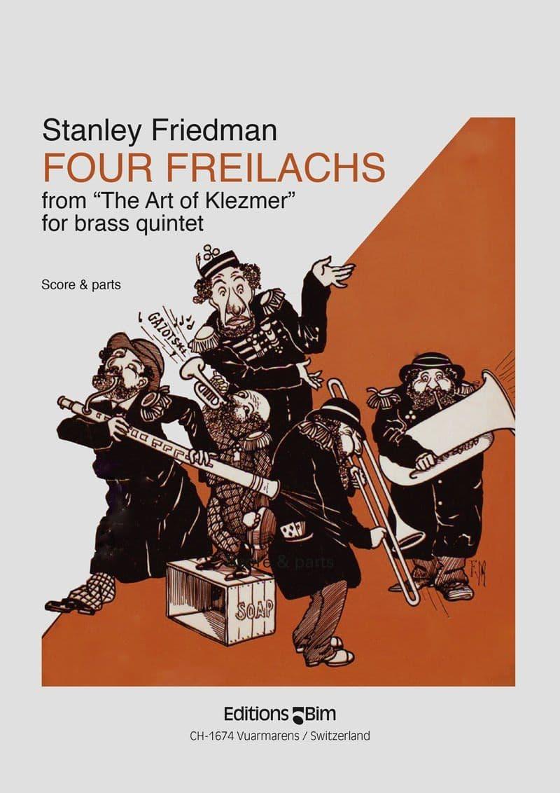 Friedman Stanley 4 Freilachs Ens76