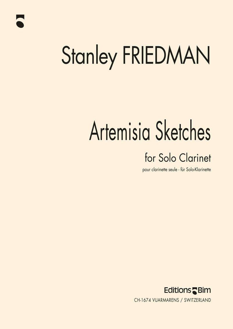 Friedman Stanley Artemisia Sketches Cl5
