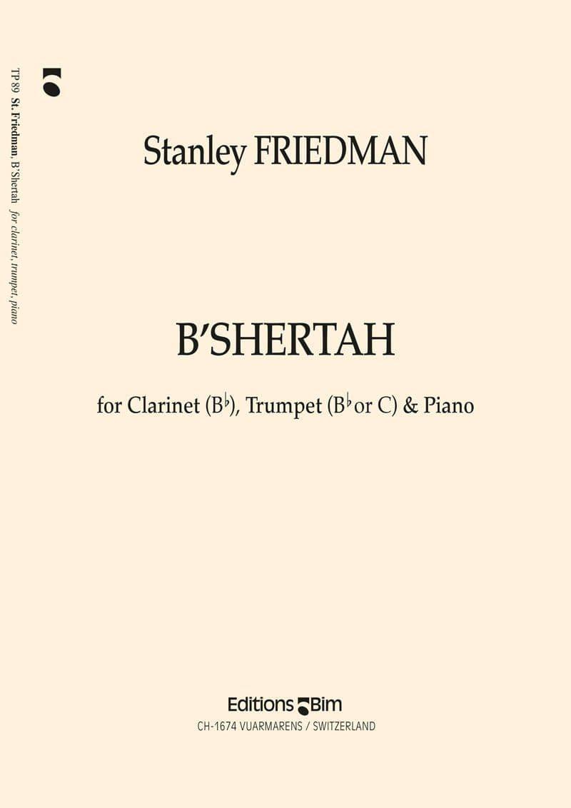 Friedman Stanley B Shertah Tp89