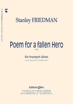 Friedman Stanley Poem For A Fallen Hero Tp100