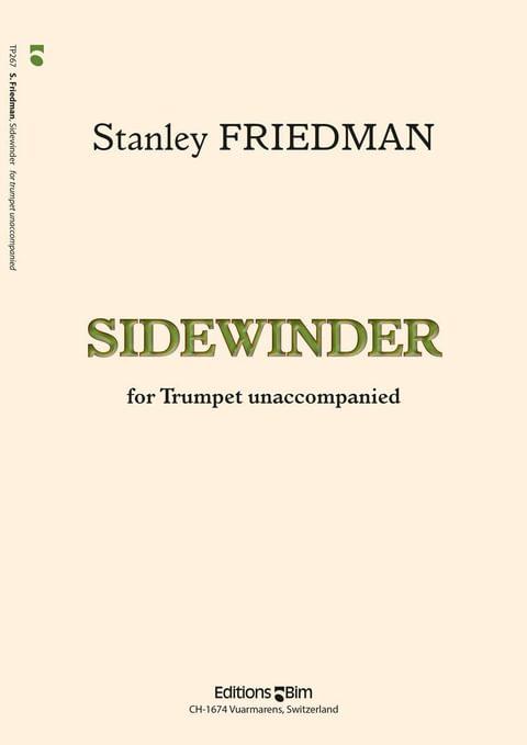 Friedman Stanley Sidewinder Tp267