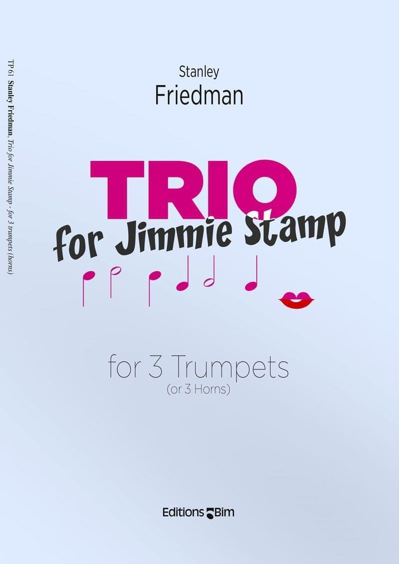 Friedman Stanley Trio For Jimmy Tp61