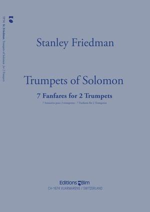 Friedman Stanley Trumpets Of Solomon Tp94