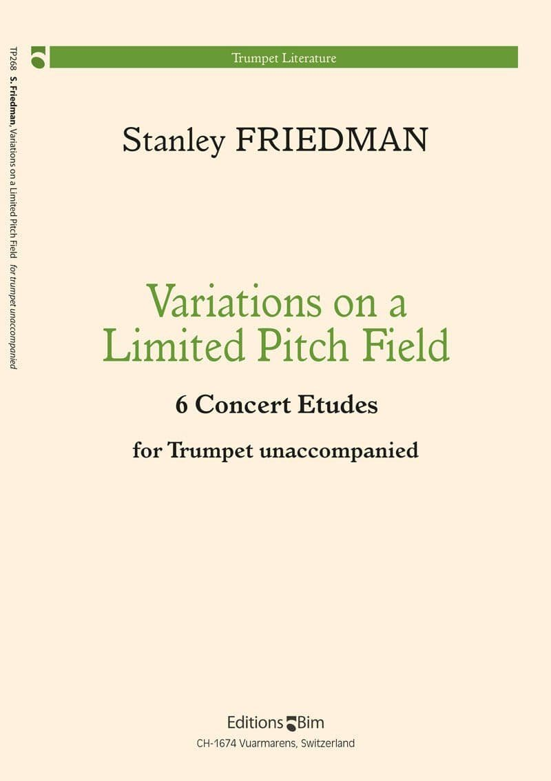 Friedman Stanley Variations On A Limited Pitch Field Tp268