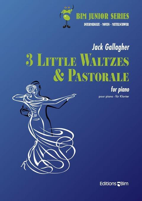 Gallagher Jack 3 Waltzes Pastorale Pno15