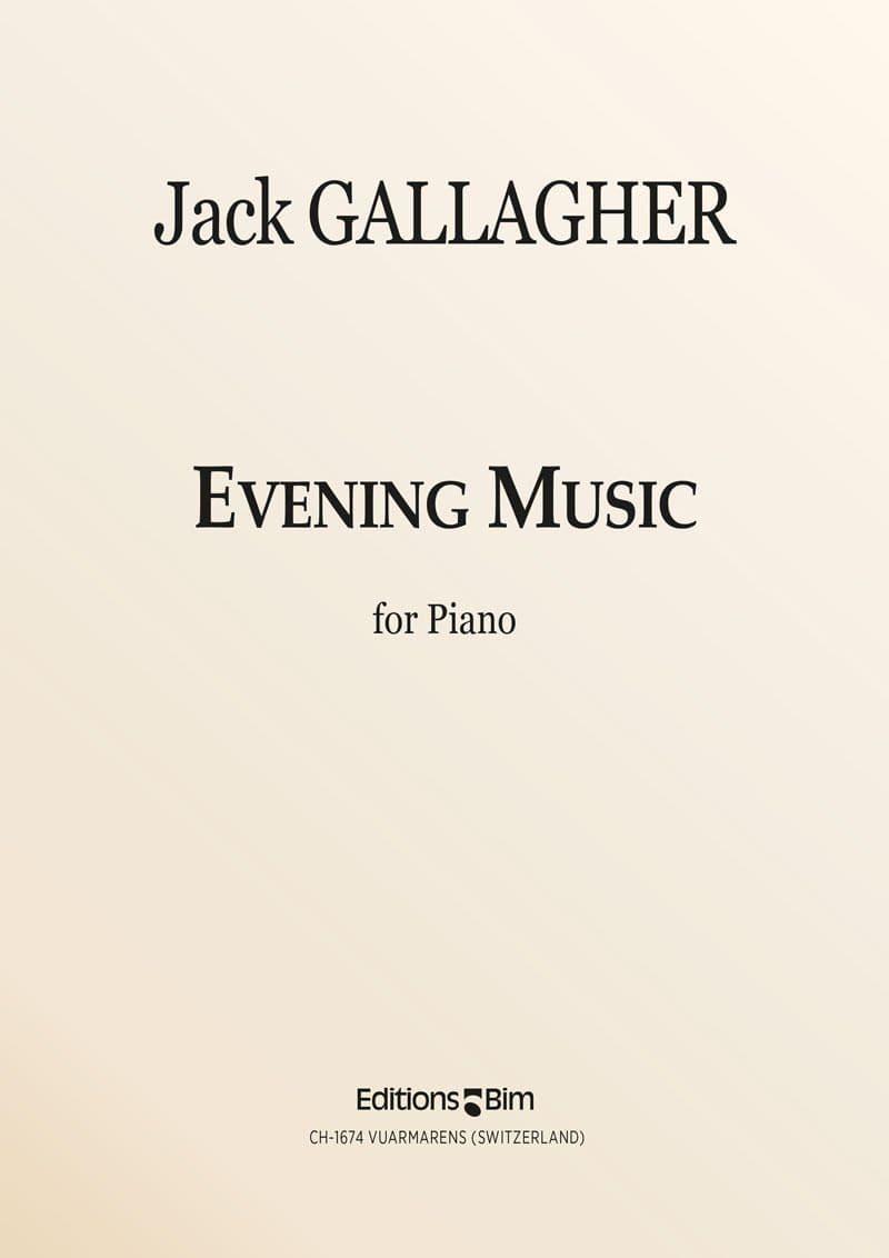 Gallagher Jack Evening Music Pno14