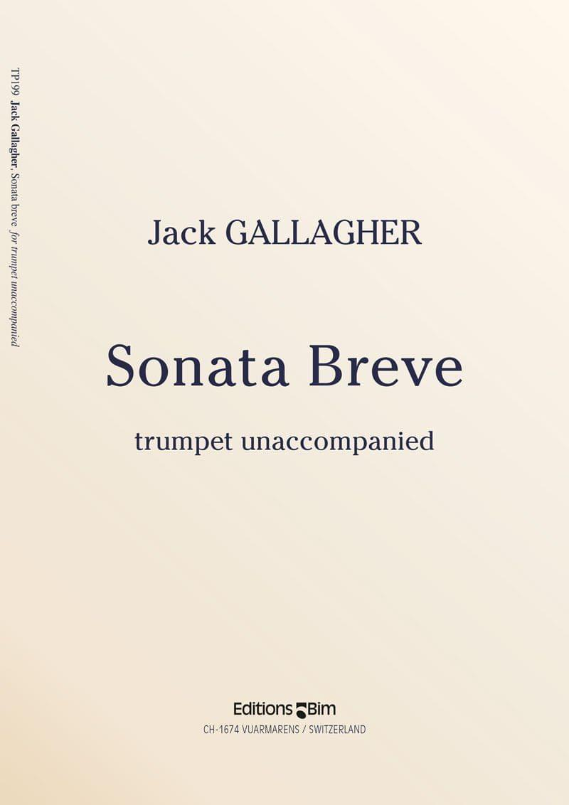 Gallagher Jack Sonata Breve Trumpet Tp199