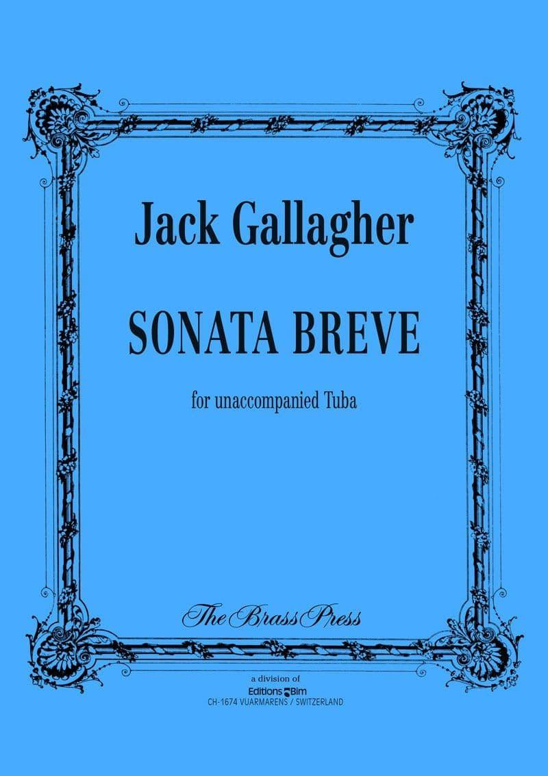Gallagher Jack Sonata Breve Tuba Tu70