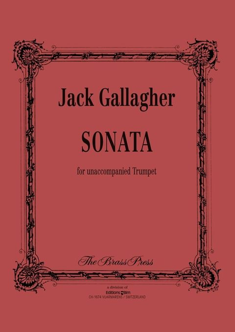 Gallagher Jack Trumpet Sonata Tp144