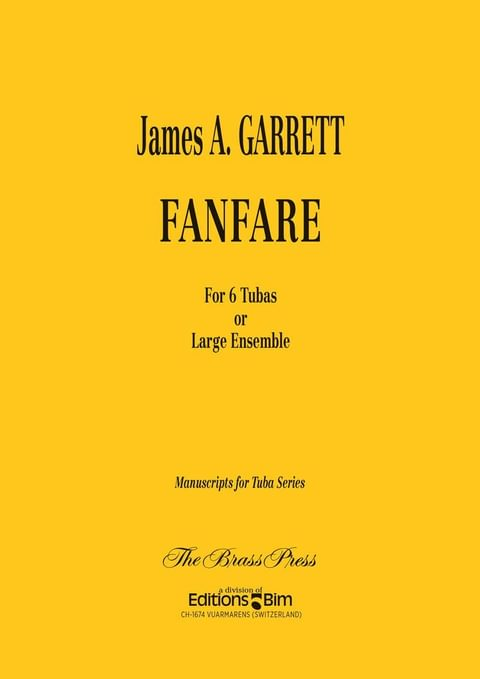 Garrett James Fanfare Tu71
