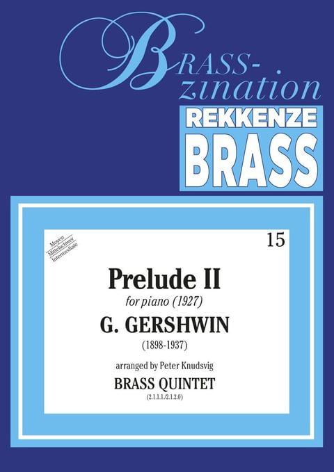 Gershwin George Prelude Ii Ens25