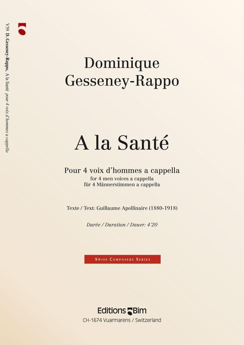 Gesseney Dominique A La Sante V59