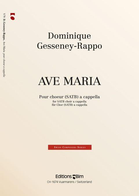 Gesseney Dominique Ave Maria V79