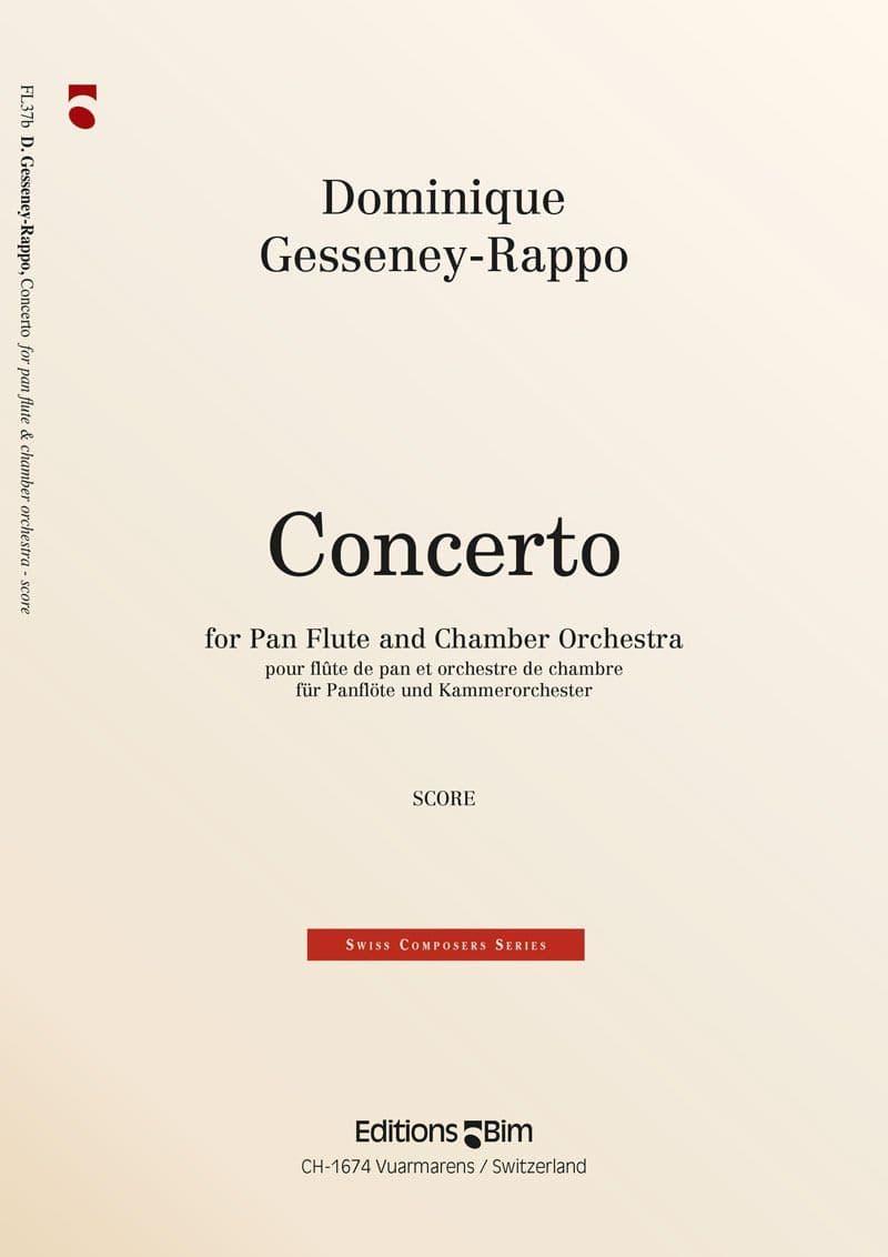 Gesseney Dominique Concerto Flute De Pan Fl37