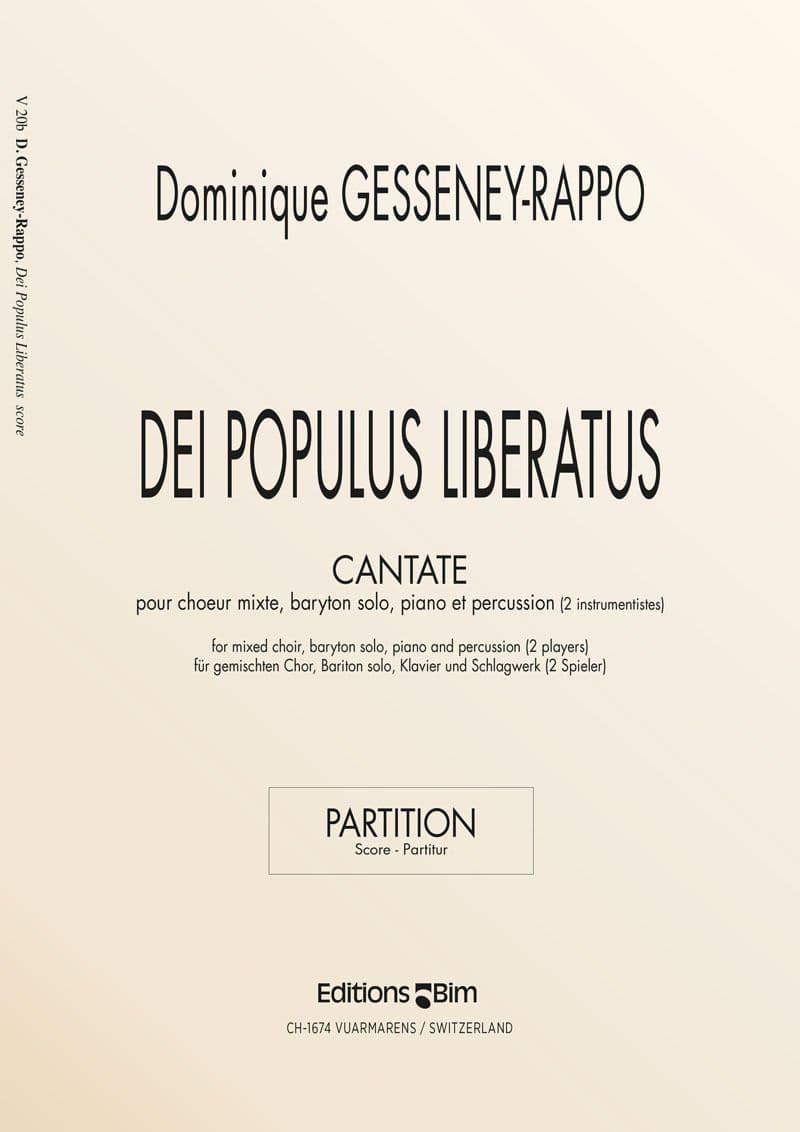Gesseney Dominique Dei Populus Liberatus V20