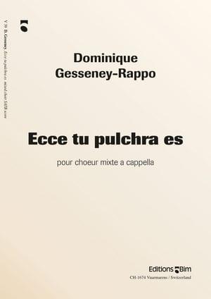 Gesseney Dominique Ecce Tu Pulchra Es V39