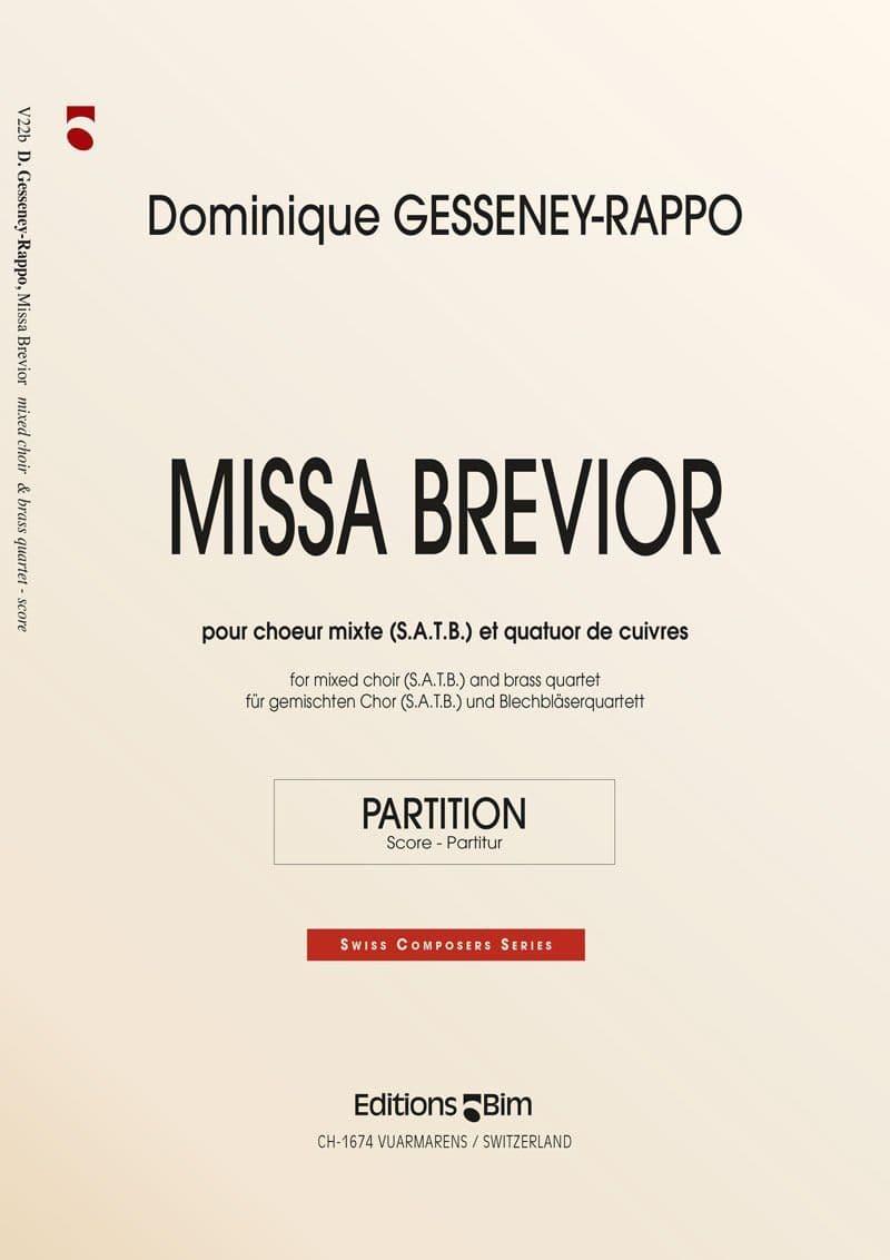 Gesseney Dominique Missa Brevior V22