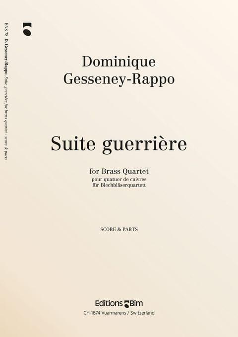 Gesseney Dominique Suite Guerriere Ens78