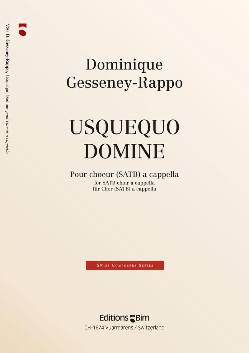 Gesseney Dominique Usquequo Domine V80
