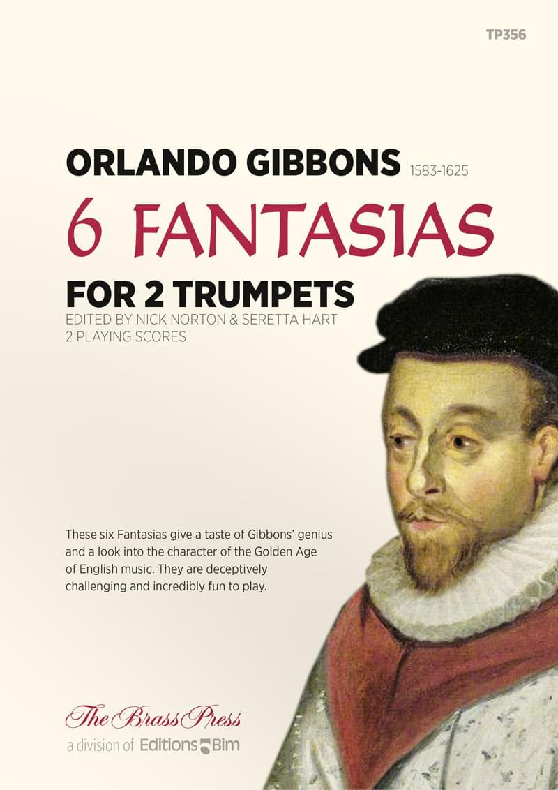 Gibbons Orlando 6 Fantasias Tp356